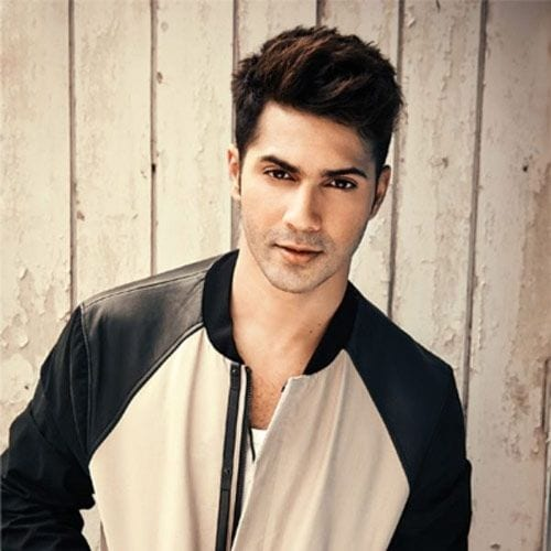 The schoolboy look - Varun Dhawan Hairstyles