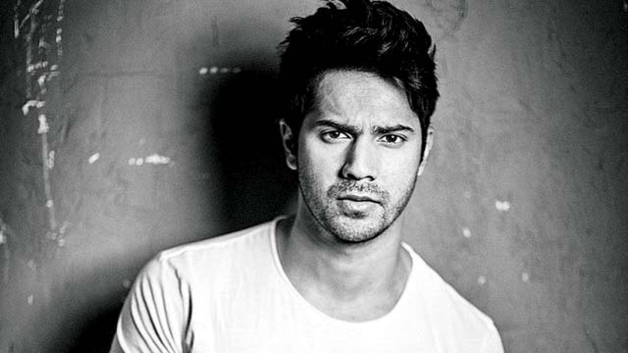 Heavy hairs with sharp spikes- Varun Dhawan Hairstyles