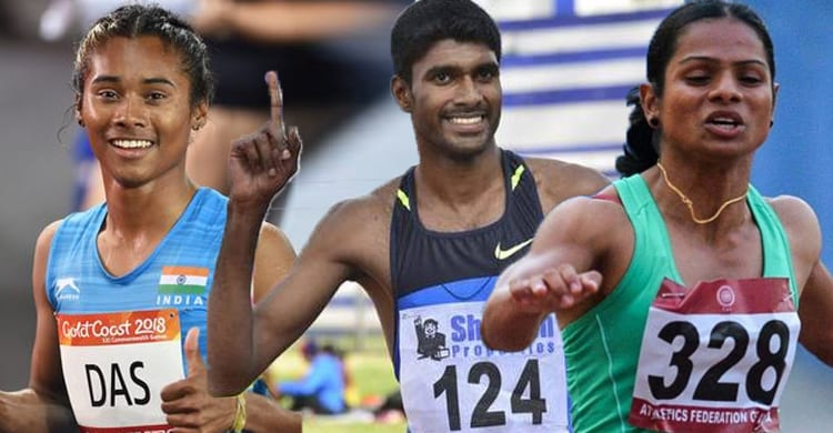 India Scores high at Asian Athletics Championships