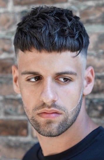 textured crop - Men Hairstyles 2019