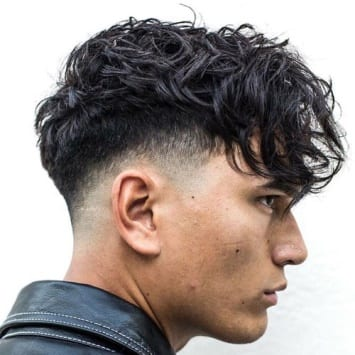 textured fringe haircut - Men Hairstyles 2019