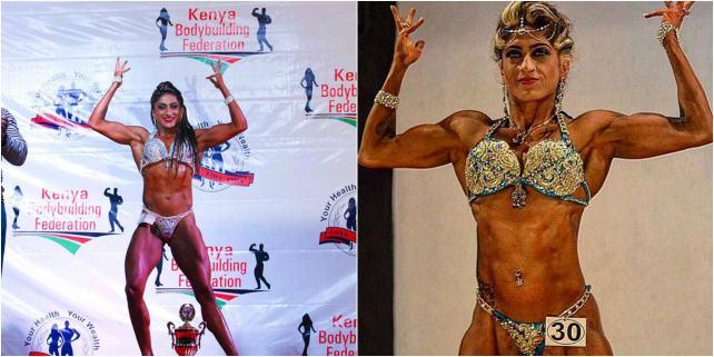 Sheetal Kotak female bodybuilding India