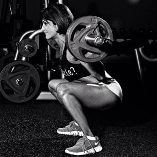 Sheetal Kotak weight lift training