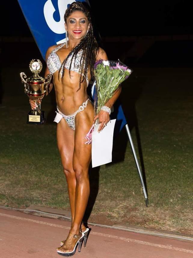 Sheetal Kotak female bodybuilder competition