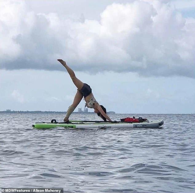 BREAKING : Women completed Triathlon with her Swollen Leg