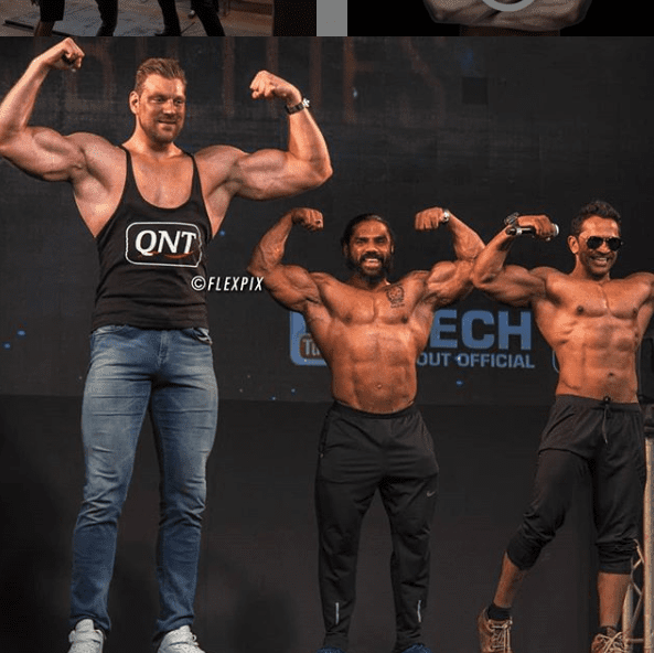 World's Tallest Bodybuilder Olivier Richters