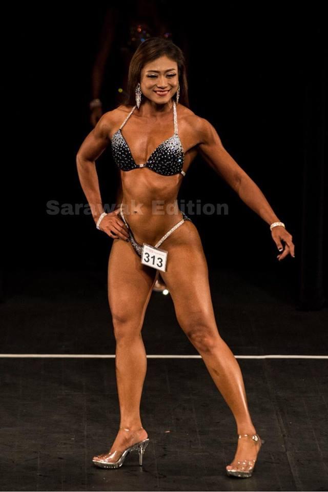 Female Bodybuilder Philomena Dexclyn Siar
