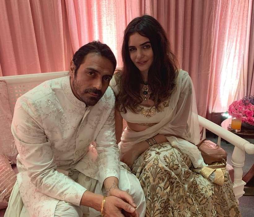 Arjun Rampal's Girlfreind Gabriella's Baby Shower