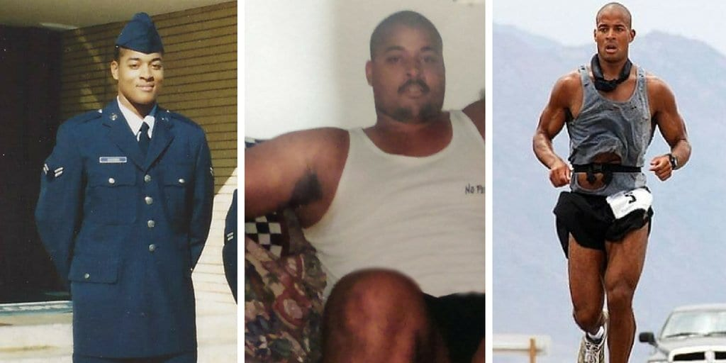 David Goggins weight loss story