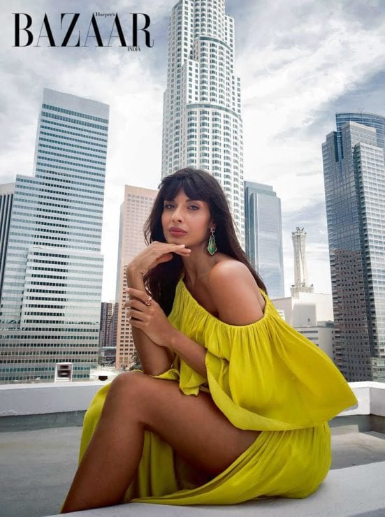 Top Magazine's Cover Shoot Done through a Smartphone Mobile / Jameela Jamil's Cover Shoot for Harper Bazaar is all sort of Goals