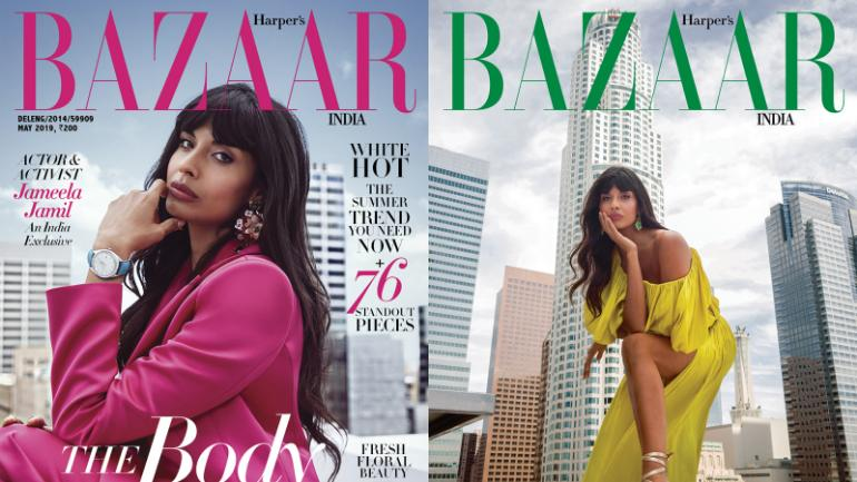 Body Positivity - Top Magazine's Cover Shoot Done through a Smartphone Mobile / Jameela Jamil's Cover Shoot for Harper Bazaar is all sort of Goals