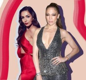 Malaika Arora and Jennifer Lopez