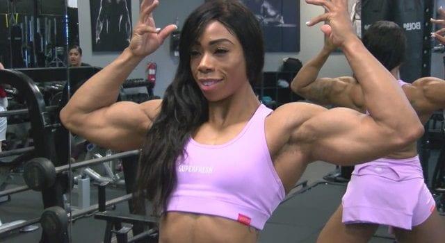 Tracy williams bodybuilding