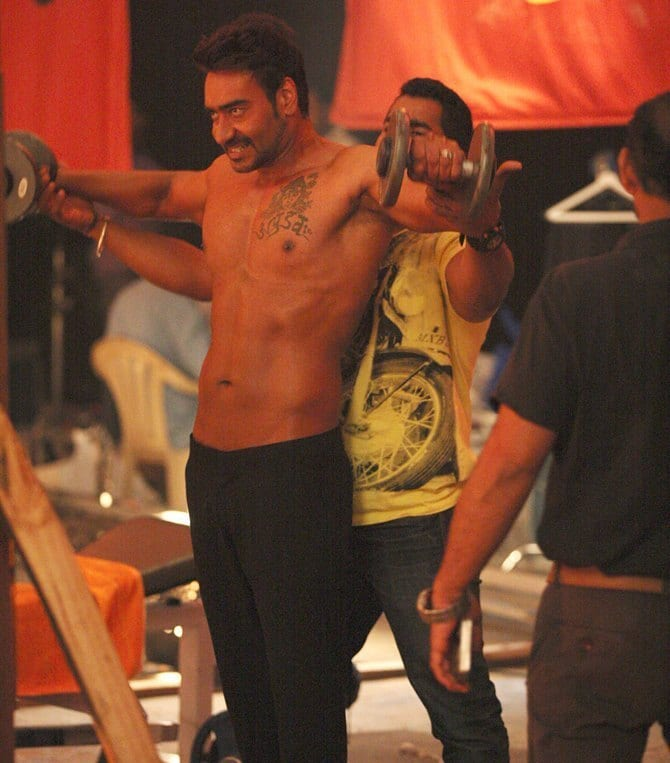 Ajay Devgan : Diet and Workout Plan