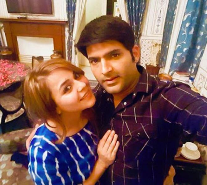 Kapil Sharma and Ginni expecting their first child?