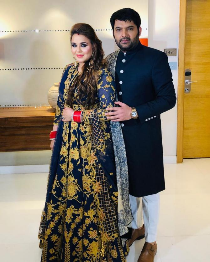 Kapil Sharma and Ginni First Child