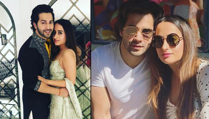 Varun Dhawan and Natasha Couple
