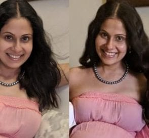 Chhavi Mittal Enjoys her 40th Week Baby Shower