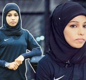 Bhanu Hijab Bodybuilder