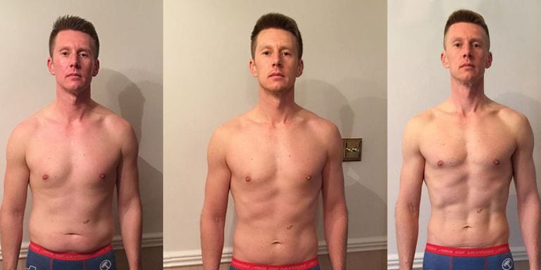 Diet changes to get six pack abs