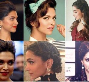 Best Hairstyles by Deepika Padukone