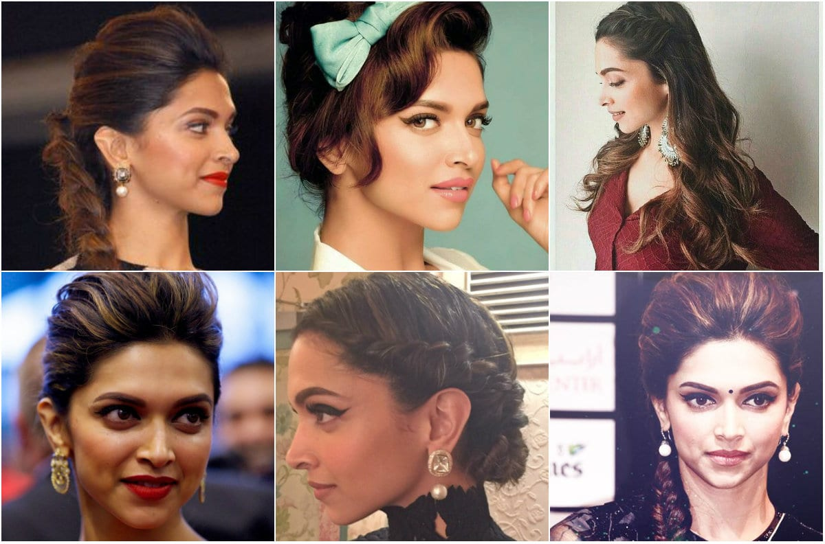 Best Hairstyles by Deepika Padukone