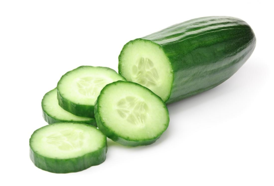 Cucumber - remove tan from arms instantly
