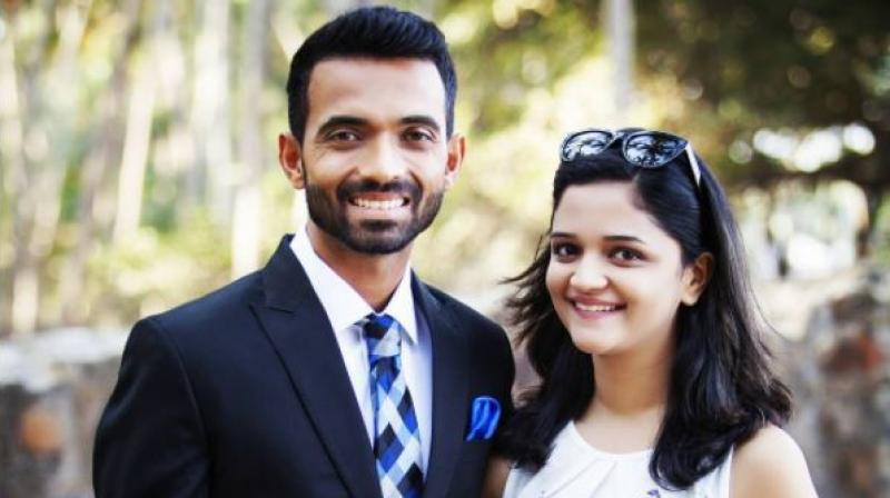 Ajiyanka Rane IPL Cricketers Wives