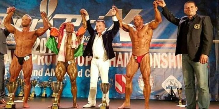 Assam Bodybuilder Golap Rabha adds new feather to his cap