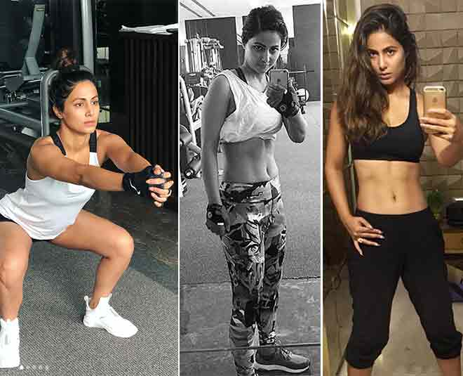 hina khan diet and workout