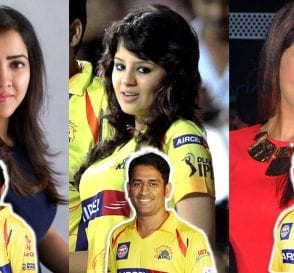 IPL Cricketers Wives
