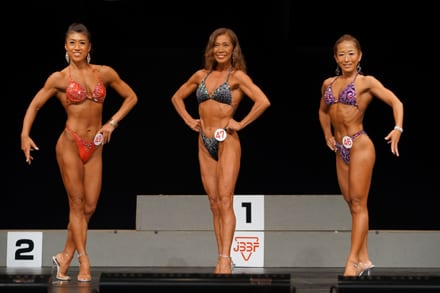 Female Bodybuilders raises their beauty game in Thailand