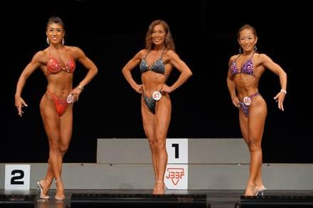 Female Bodybuilders raises their beauty game in Thailand
