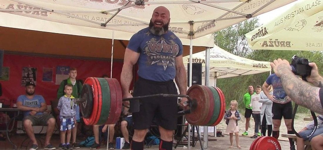 RESPECT : Konstantin Konstantinovs is a Russian Powerlifting Legend