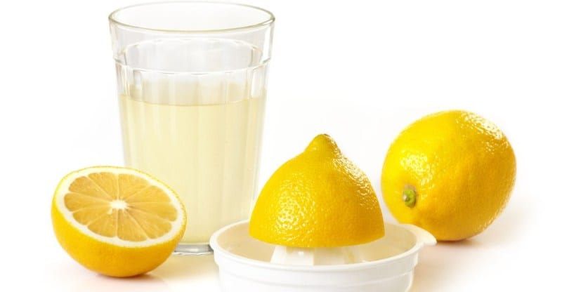 Lemon Juice - remove tan from arms instantly