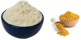turmeric and gram flour