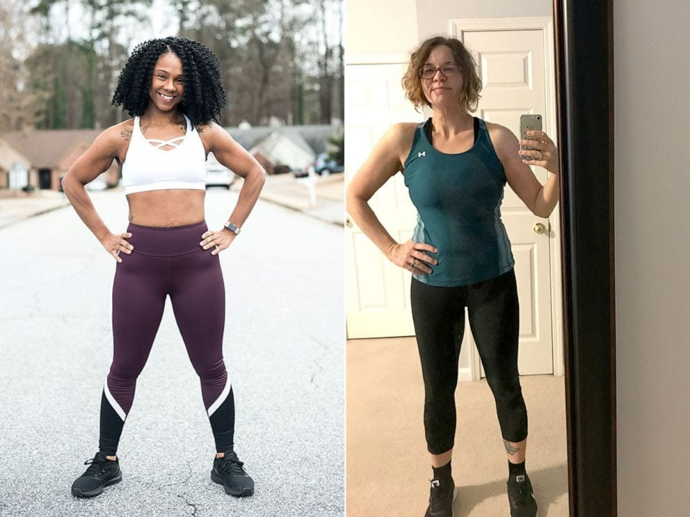 weight loss story two moms