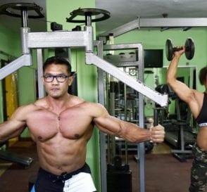 Bodybuilding Couple India