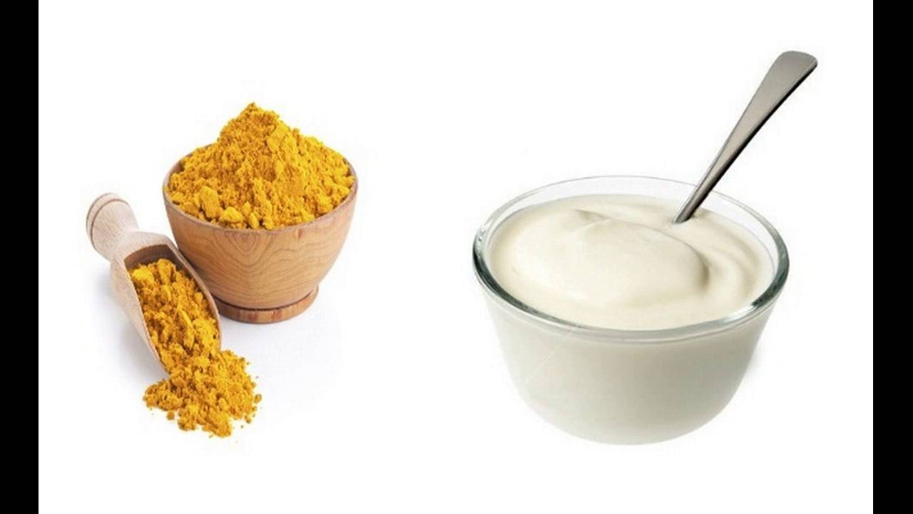 yogurt and turmeric