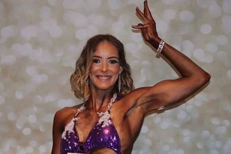 Mum of four battles depression but becomes a bodybuilder
