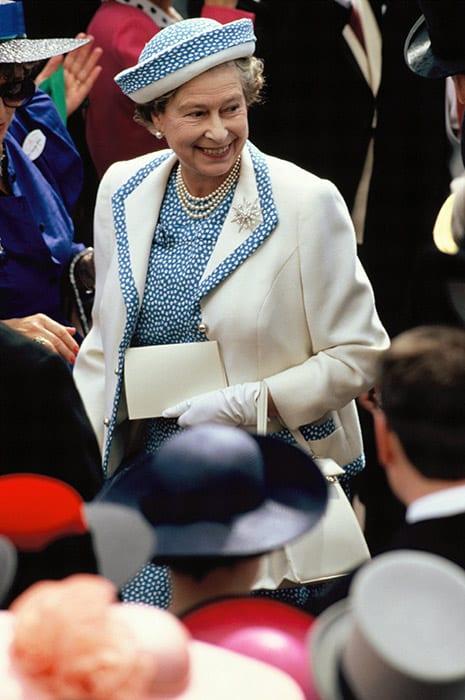 Queen Elizabeth with short hair