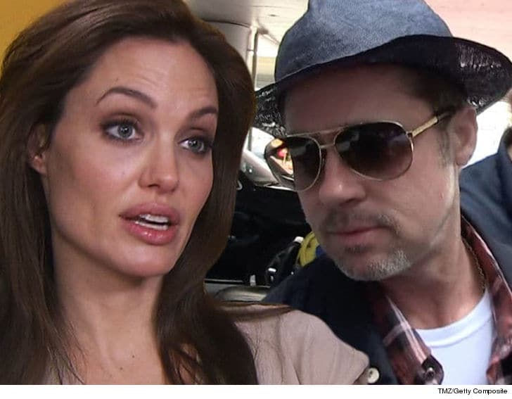 "Brad Pitt to give ""WARNING"" to Angelina Jolie 1"
