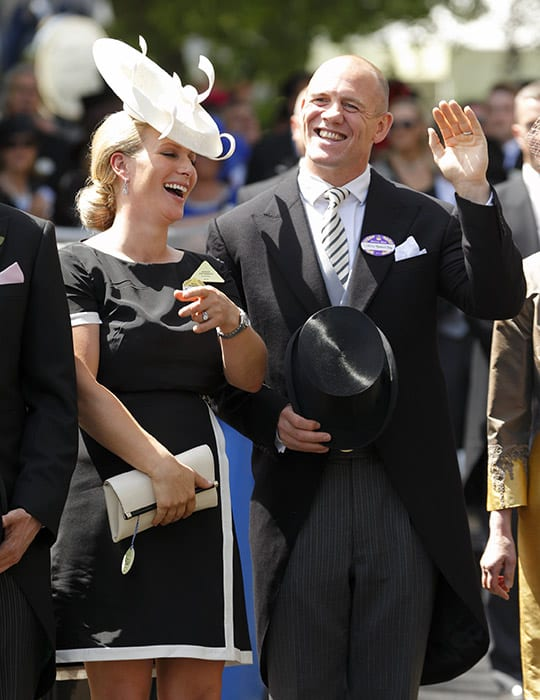 Zara Tindall with hair bun