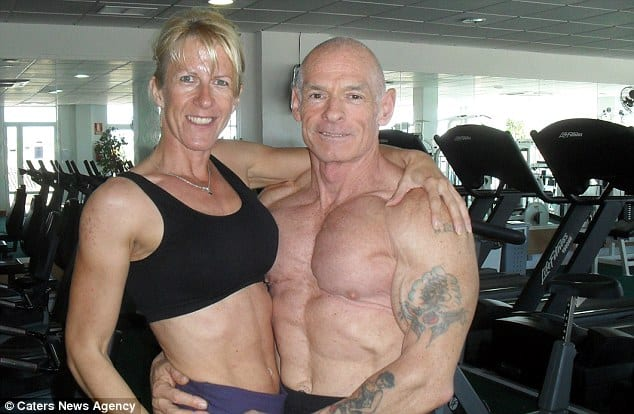 Bodybuilding couple reveal their secret fitness regime