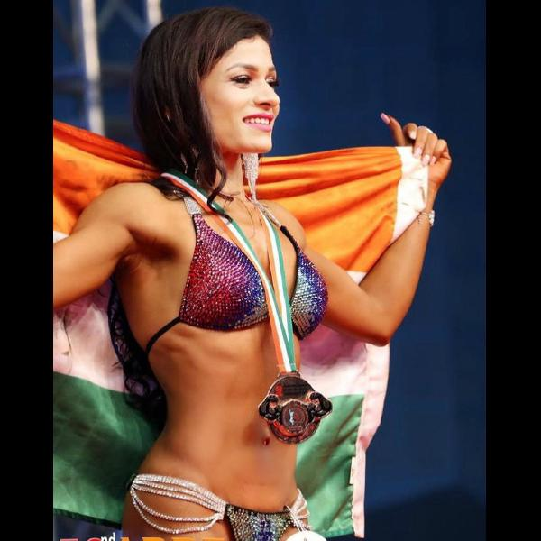 Bhavsara bikini bodybuilder India