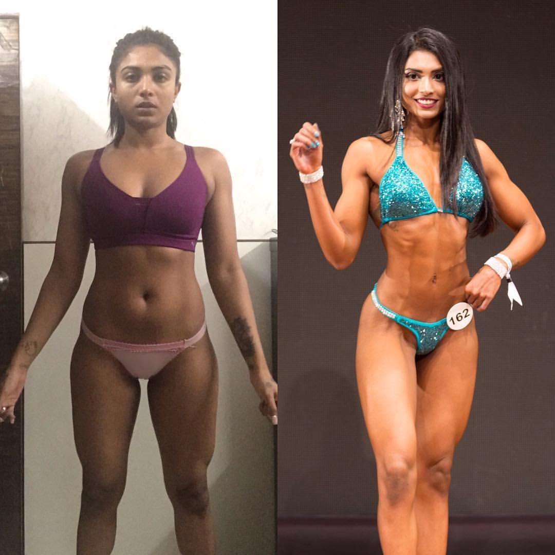 bikini bodybuilder Prerna Anchan