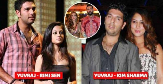 Yuvraj Singh girlfriends