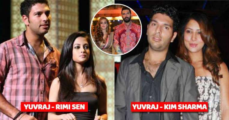 Yuvraj Singh girlfriends