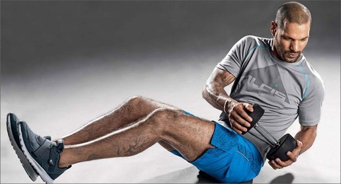 Shikhar Dhawan fitness regime