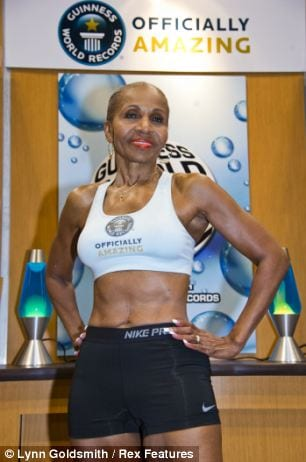 Oldest Bodybuilder - Emestine Shepherd